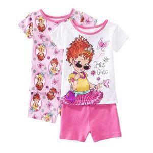 Toddler Girls Disney Fancy Nancy 2 Sets Pajamas